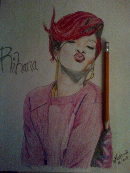 Rihanna par eMak3reeD